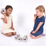 Sensory Reflective Sound Balls Pack of 7